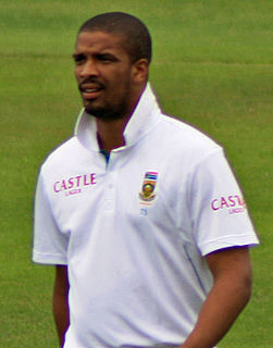 Vernon Philander South African cricketer