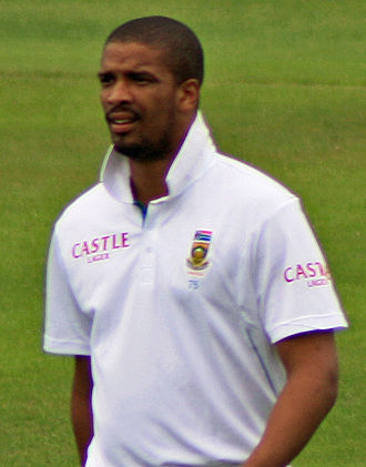 Vernon Philander - Philander playing for South Africa in 2012.