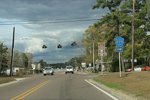 Vernon, Florida - State Road 79 in Vernon