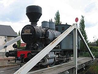 VR Class Vr1 class of 43 Finnish 0-6-0T locomotives
