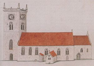Vår Frue Church - Image: Vfk schoning