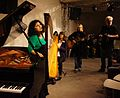 Vienna 2013-11-21 Porgy+Bess - RAU sound recording, fr. l, Felber-Armakan, Stadler, Stoiber, Mitterbauer.jpg