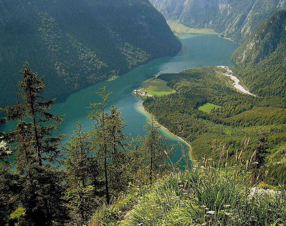 View from Archenkanzel