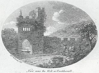 Crickhowell - Porthmawr Gate c. 1800