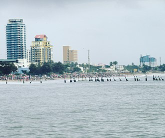 Kozhikode - View of Calicut beach