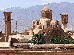 View of Tabatabei Historical House - From Roof of Abbasian Historical House - Kashan - Central Iran (7453873324).jpg
