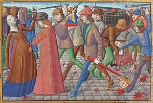 Armagnac–Burgundian Civil War - The Cabochien revolt in 1413
