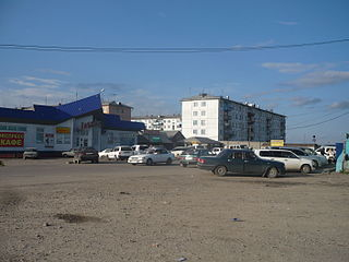 District in Irkutsk Oblast, Russia