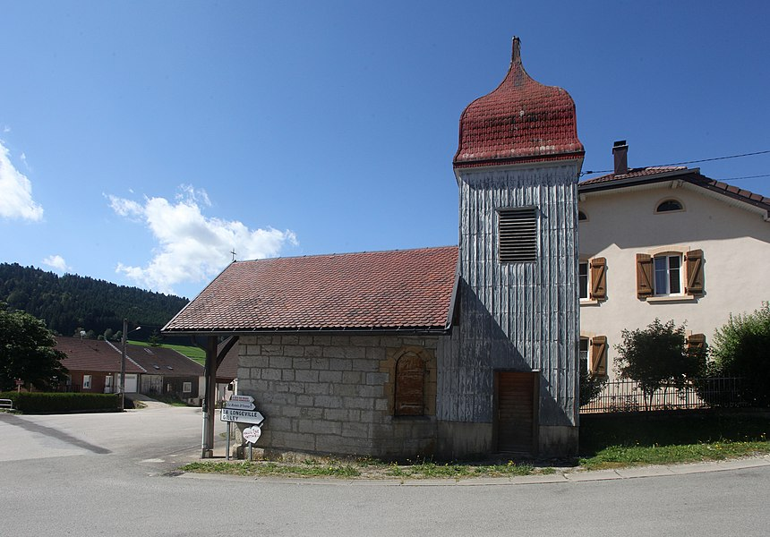 Chapelle à Ville-du-Pont (Doubs).