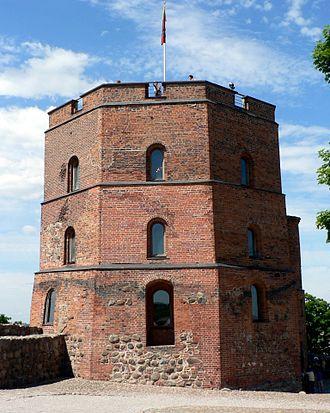 Vilnius Castle Complex - Remaining tower of the Upper Castle