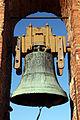 Vinci, castello dei conti guidi, campana della torre 02.JPG