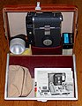 Vintage Polaroid Instant Rollfilm Camera Outfit, Model 150, Made In USA, Circa 1957 - 1960 (36946128841).jpg