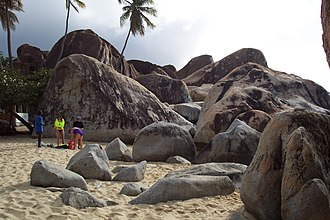 The Baths - Image: Virgin Gorda Boulders 2