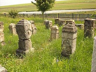Cantemir District - German cemetery in Visneuca