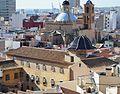 Vista del convent de les monges de la Sang des del parc de l'Ereta, Alacant.JPG