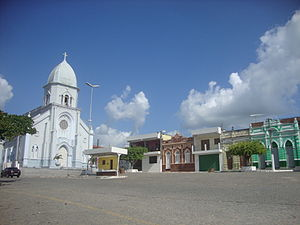 Umbuzeiro - View of the Church of Our Lady of Deliverance