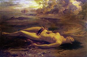 Indianism (arts) - Moema, by Brazilian Romantic painter Victor Meirelles