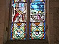 Vitrail du choeur de l'église (Vieux, Tarn).jpg