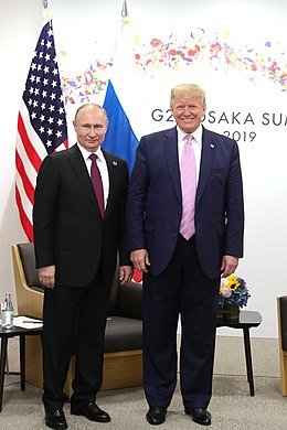 Vladimir Putin and Donald Trump (2019-06-28) 04.jpg