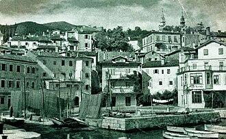 Volosko - Old Postcard of Volosko, Opatia