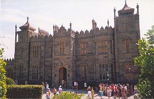 Edward Blore - Vorontsov Palace in Alupka, Crimea, Ukraine.