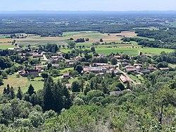 Vue Centre Pressiat depuis Mont Myon Val Revermont 3.jpg
