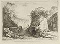 Vue du Tombeau de Virgile from Differentes vues dessiné d'après nature... dans les environs de Rome et de Naples MET DP842902.jpg