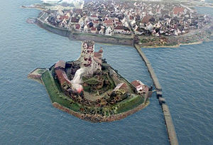 Vyborg Castle - Image: Vyborg Castle 1710