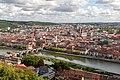 Würzburg, Festung Marienberg, Blick auf die Altstadt -- 2018 -- 0327.jpg