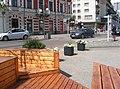 Włocławek-view from the parklet at corner of Wolności Square and Kościuszki Street.jpg