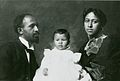 W.E. B. DuBois with his wife Nina and daughter Yolande NYPL.jpg