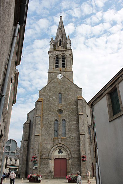 Saint-Martin church, XIX°, Fr-49-Torfou.
