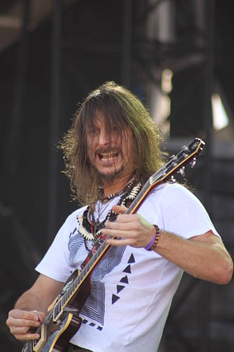 Angra (band) - Rafael Bittencourt, guitarist and principal composer