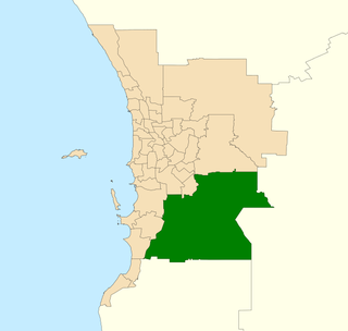 Electoral district of Darling Range State electoral district in Perth, Western Australia