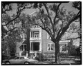 WEST (FRONT) ELEVATION - Patrick Calhoun Mansion, 16 Meeting Street, Charleston, Charleston County, SC HABS SC,10-CHAR,263-1.tif