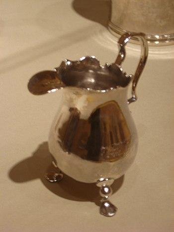 WLA lacma Silver Cream Pitcher Paul Revere