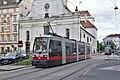 WL 116, Paulanergasse tram stop (Vienna), 2019 (01).jpg