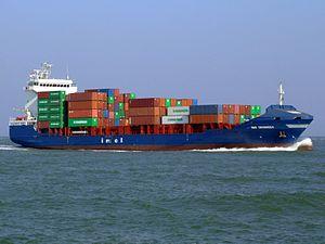 WMS Groningen IMO 9339038 approaching Port of Rotterdam 01-Apr-2007.jpg