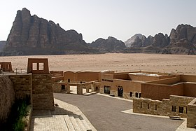 Wadi Rum, Jordan, The Wadi Rum Visitor Center.jpg
