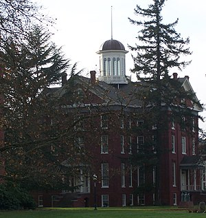 Waller Hall at Willamette University in Salem,...