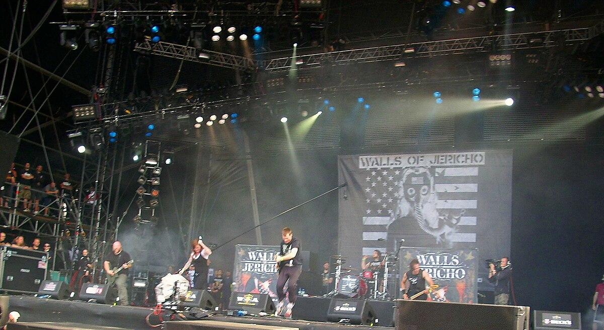 Walls Of Jericho Band Wikipedia