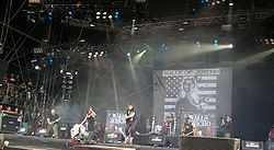 Walls of Jericho auf dem Wacken Open Air 2009