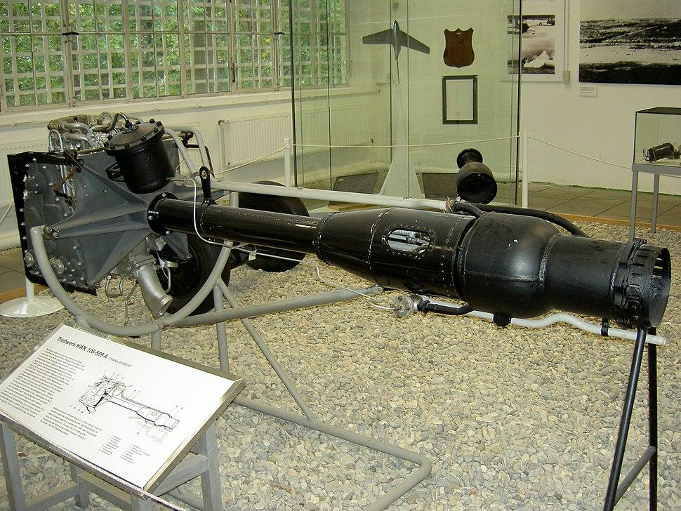 Walter Triebwerk HWK109-509 A Luftwaffenmuseum Berlin-Gatow Denis Apel