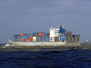 Wan Hai 503 p4, leaving Port of Rotterdam, Holland 21-Jan-2007.jpg