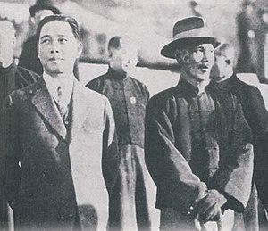 Wang Jingwei - Wang Jingwei and Chiang Kai-Shek in 1926