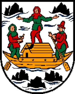 Grein, Austria - Image: Wappen at grein