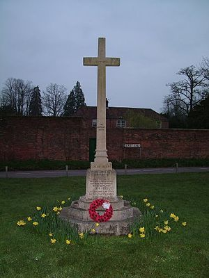 East Woodhay - War Memorial