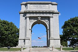 War Memorial At Valley Forge PA.JPG