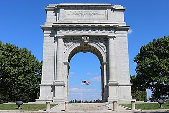 Valley Forge National Historical Park - United States National Memorial Arch