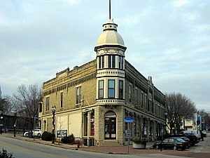 Wauwatosa, Wisconsin - Robertson Ace Hardware Building; one of the original buildings in Wauwatosa